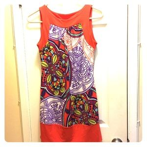 XOXO Print Dress (Small)